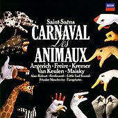 Saint-Saëns: The Carnival of the Animals / Meschwitz: Tier-Gebete / Ridout: Little Sad Sound von Martha Argerich