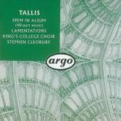 Tallis: Spem in alium; The Lamentations of Jeremiah von Choir of King's College, Cambridge