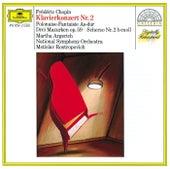 Chopin: Piano Concerto No.2; Scherzo; Polonaise; 3 Mazurkas von Martha Argerich