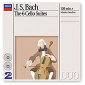 Bach, J.S.: The 6 Cello Suites de Maurice Gendron