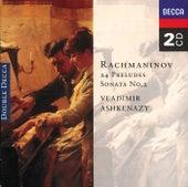 Rachmaninov: 24 Preludes; Piano Sonata No. 2 de Vladimir Ashkenazy