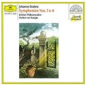 Brahms: Symphonies Nos.3 & 4 by Berliner Philharmoniker
