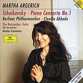 Tchaikovsky: Piano Concerto No.1; The Nutcracker Suite von Martha Argerich
