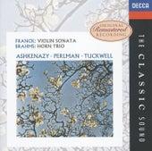 Brahms: Horn Trio / Franck: Violin Sonata de Barry Tuckwell