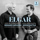 Elgar: Violin Concerto & Violin Sonata by Renaud Capuçon