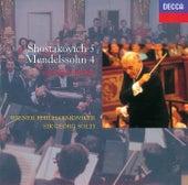 Mendelssohn: Symphony No.4/Shostakovich/Symphony No.5 by Wiener Philharmoniker