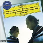 Stravinsky: Three Dances from Petruschka'/ Prokofiev: Piano Sonata No.7 / Webern: Piano Variations de Maurizio Pollini