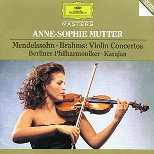 Mendelssohn / Brahms: Violin Concertos by Anne-Sophie Mutter