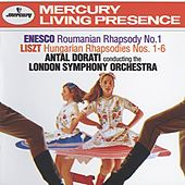 Enesco: Roumanian Rhapsody No.1 / Liszt: Hungarian Rhapsodies Nos.1-6 de London Symphony Orchestra