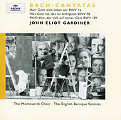 Bach: Cantatas BWV 16; 98; 139 von English Baroque Soloists