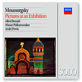 Mussorgsky: Pictures at an Exhibition (Piano & Orchestral versions) by Alfred Brendel
