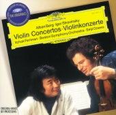 Berg / Stravinsky: Violin Concertos di Itzhak Perlman