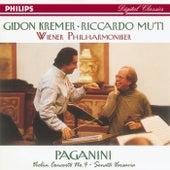 Paganini: Violin Concerto No.4/Suonata Varsavia by Gidon Kremer