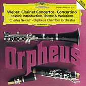 Weber: Clarinet Concertos / Rossini: Introduction, Theme and Variations de Charles Neidich