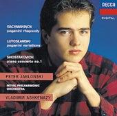 Rachmaninov/Shostakovich/Lutoslawski: Rhapsody on a Theme of Paganini/Piano Concerto No.1/Paganini Vars de Peter Jablonski