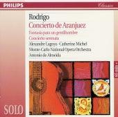 Rodrigo: Concierto de Aranjuez; Fantasía para un gentilhombre; Concierto serenata by Alexandre Lagoya