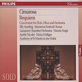 Cimarosa: Requiem; Concertante for Flute, Oboe & Orchestra by Elly Ameling