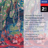Rimsky-Korsakov: Scheherazade, etc. de L'Orchestre de la Suisse Romande