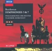 Beethoven: Symphonies Nos.5 & 7 de Philharmonia Orchestra