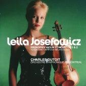 Prokofiev: Violin Concertos Nos.1 & 2 / Tchaikovsky: Sérénade mélancolique by Leila Josefowicz
