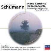 Schumann: Piano Concerto; Cello Concerto, etc. de Various Artists