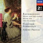 Rachmaninov: Music for two pianos de Vladimir Ashkenazy