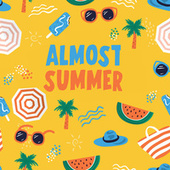 Almost Summer by Various Artists