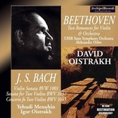 David Oistrakh Bach and Beethoven Recordings de David Oistrakh