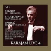 Karajan conducts Strauss, Bartok, Schostakovich by Los Angeles Philharmonic
