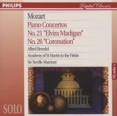 Mozart: Piano Concertos No.21 & 26 by Alfred Brendel