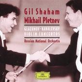 Glazunov / Kabalevsky: Violin Concertos de Gil Shaham