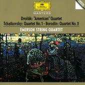 Dvorák / Tchaikovsky / Borodin: String Quartets by Emerson String Quartet