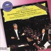 Beethoven: Piano Concertos Nos.1 & 3 de Arturo Benedetti Michelangeli