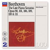 Beethoven: The Late Piano Sonatas by Alfred Brendel