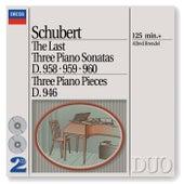 Schubert: The Last Three Piano Sonatas by Alfred Brendel