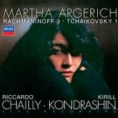 Rachmaninov: Piano Concerto No.3 / Tchaikovsky: Piano Concerto No.1 von Martha Argerich
