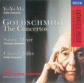 Goldschmidt: Cello Concerto/Clarinet Concerto/Violin Concerto de Yo-Yo Ma