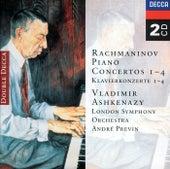 Rachmaninov: Piano Concertos Nos. 1-4 de Vladimir Ashkenazy