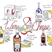 Wine and Cheese by Icon Redd