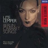 Berlin Cabaret Songs de Ute Lemper