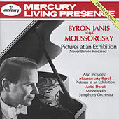 Mussorgsky: Pictures at an Exhibition (Versions for piano & for orchestra) etc. by Byron Janis