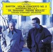 Bartók: Violin Concerto No.2; Rhapsodies de Gil Shaham