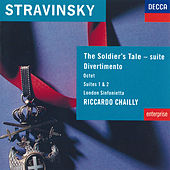Stravinsky: The Soldier's Tale; Divertimento etc di London Sinfonietta