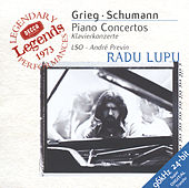 Grieg / Schumann: Piano Concertos de Radu Lupu