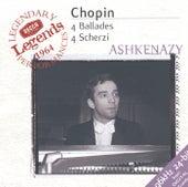 Chopin: 4 Ballades; 4 Scherzi de Vladimir Ashkenazy