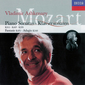 Mozart: Piano Sonatas Nos. 9, 14 & 17/Fantasy in C minor/Adagio in B minor von Vladimir Ashkenazy