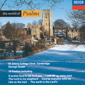 The World of Psalms de The Choir of St. Johns College, Cambridge