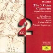 Mozart: The 5 Violin Concertos; Sinfonia Concertante by Gidon Kremer