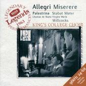 Allegri: Miserere / Palestrina: Stabat Mater von Choir of King's College, Cambridge