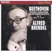 Beethoven: Piano Sonatas, Op.2 Nos.1-3 by Alfred Brendel